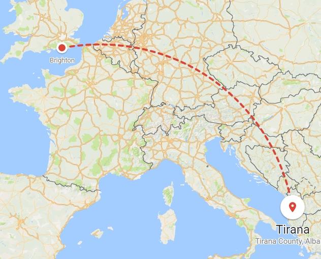 map-to-albania